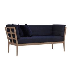 SLANT SOFA 2 SEAT | Divani | JANUS et Cie