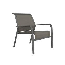 ZEPHYR LOUNGE CHAIR | Garden armchairs | JANUS et Cie