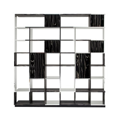 Sudoku Nerobianco | Shelving | CASAMANIA-HORM.IT