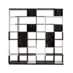 Sudoku Nerobianco | Office shelving systems | CASAMANIA-HORM.IT