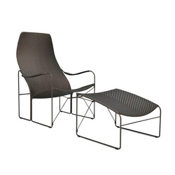 WHISKEY LOUNGE CHAIR + OTTOMAN | Sessel | JANUS et Cie