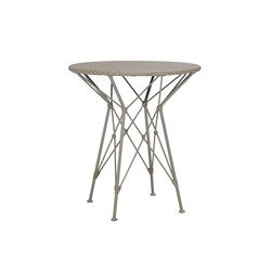 WHISK WOVEN TOP SIDE TABLE ROUND 52 | Tavolini alti | JANUS et Cie