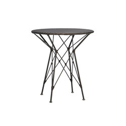 WHISK WOVEN TOP SIDE TABLE ROUND 52   Side tables   JANUS et Cie