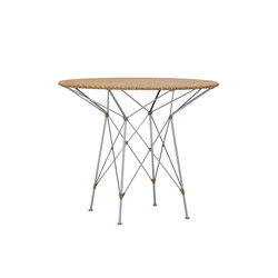 WHISK WOVEN TOP DINING TABLE ROUND 70 | Tables de cafétéria | JANUS et Cie