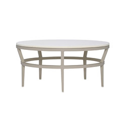 SLANT STONE TOP COCKTAIL TABLE ROUND 102 | Coffee tables | JANUS et Cie