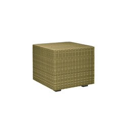 SEE! RATTAN CLOSED CUBE SIDE TABLE 48 | Side tables | JANUS et Cie