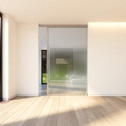 Portapivot Slideways 6530 | silver anodized | Puertas de interior | PortaPivot