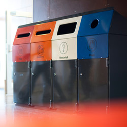 Acceptor 160 recycle | Waste baskets | Vestre