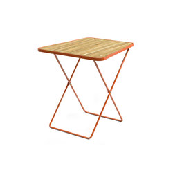 April Go folding table | Bistrotische | Vestre