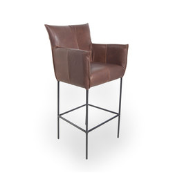 Forward Old Glory barstool with arms | Taburetes de bar | Jess