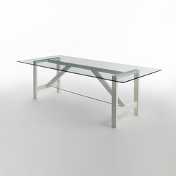 Capriata Glass | Tables de repas | CASAMANIA-HORM.IT