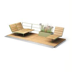 Parklet 2.0 | Sun loungers | Vestre