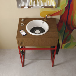 Vinyl single | Vanity units | Olympia Ceramica