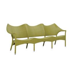 AMARI RATTAN SOFA 3 SEAT | Sofas | JANUS et Cie