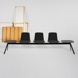 Lottus Bench | Beam / traverse seating | ENEA