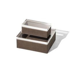 Gli Oggetti | Leather Case | Storage boxes | Poltrona Frau