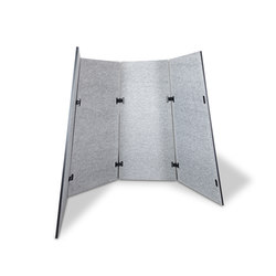 Acoustic shield tent | Space dividing systems | Westermann