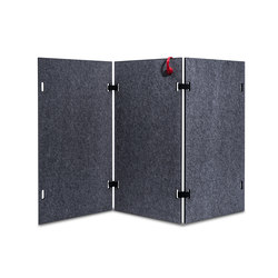 Acoustic shield wall | Privacy screen | Westermann