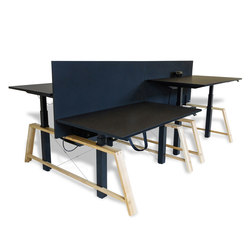 Double bench | Desking systems | Westermann