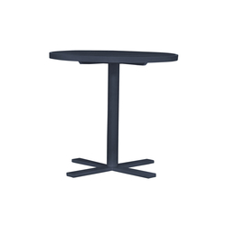 DUO CAFE TABLE ROUND 78 | Dining tables | JANUS et Cie