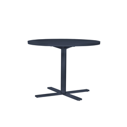 DUO CAFE TABLE ROUND 95 | Kantinentische | JANUS et Cie