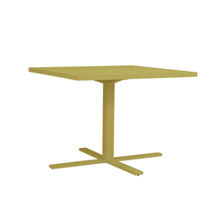 DUO CAFE TABLE SQUARE 95 | Dining tables | JANUS et Cie