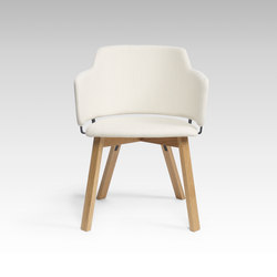 Skift Plus Wood | Chaises | David design