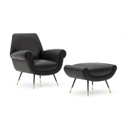 Albert Sessel und Hocker | Sessel | Minotti