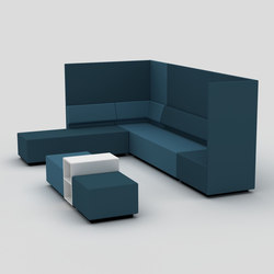 One Café + Wall | Modular seating systems | David design