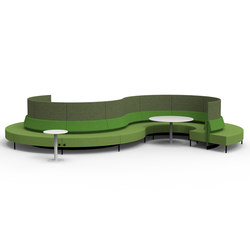One Air Curve Café + Wall | Sofas | David design