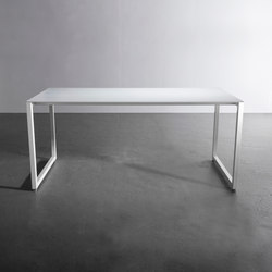 Slim Line | Table | Individual desks | David Gaynor Design