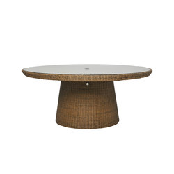 STRADA STONE TOP DINING TABLE ROUND 180 | Restaurant tables | JANUS et Cie