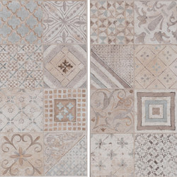 Amarcord Bianco | Decoro Tradizione Rettificato | Carrelage céramique | Rondine