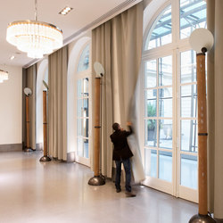 Acoustic curtains   Sound absorbing fabric systems   Texaa®