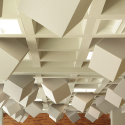 Abso acoustic cubes | Acoustic ceiling systems | Texaa®