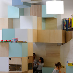 Abso acoustic cubes | Sound absorbing freestanding systems | Texaa®