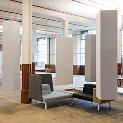 Abso acoustic totems | Sound absorbing freestanding systems | Texaa®