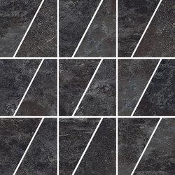 Ardesie Dark | Mosaico Trapezio | Mosaïques céramique | Rondine