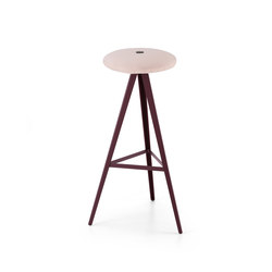 Aky Stool met 0122 h78 | Bar stools | Trabà