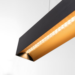 Drupl70 curved office compliant | Suspended lights | Modular Lighting Instruments