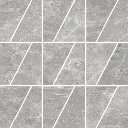 Ardesie Grey | Mosaico Trapezio | Mosaici ceramica | Rondine