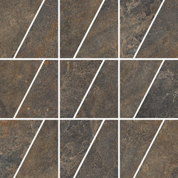Ardesie Multicolor | Mosaico Trapezio | Mosaici ceramica | Rondine
