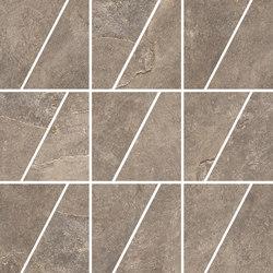 Ardesie Taupe | Mosaico Trapezio | Keramik Mosaike | Rondine