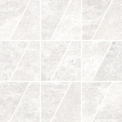 Ardesie White | Mosaico Trapezio | Mosaïques céramique | Rondine