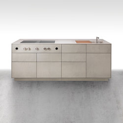 dade MILANO concrete kitchen | Concrete panels | Dade Design AG concrete works Beton