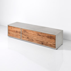 Concrete Lowboard | Sideboards | Dade Design AG concrete works Beton