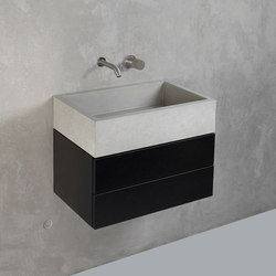 dade ELINA 60 washstand furniture | Lavabos | Dade Design AG concrete works Beton