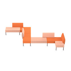 Nestor Orange | Sofas | Skandiform
