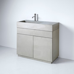 dade ELINA 90 washstand furniture | Wash basins | Dade Design AG concrete works Beton