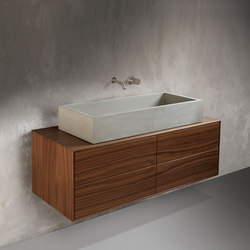daed SALONE washstand furniture | Lavabos | Dade Design AG concrete works Beton